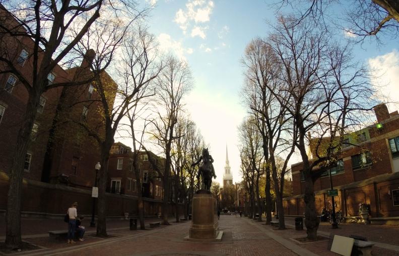 Paul Revere, Old North Church, Boston, North End