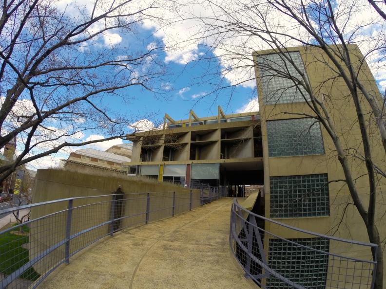 Carpenter Center for the Visual Arts, Le Corbusier