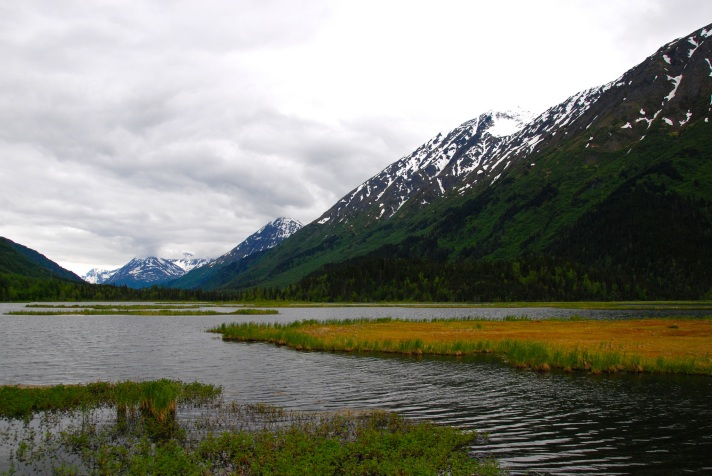On the road from Anchorage to Homer