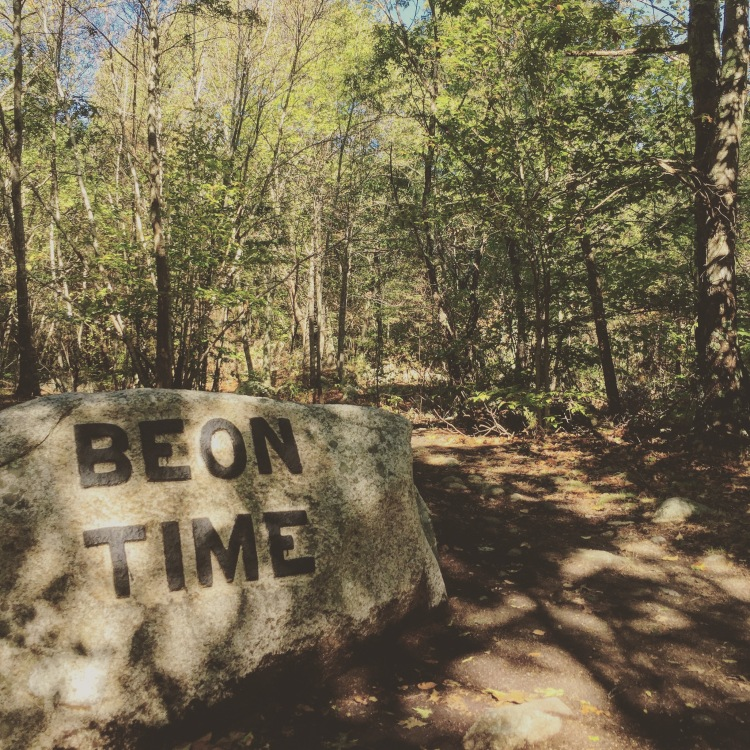 BABSON BOULDERS BE ON TIME