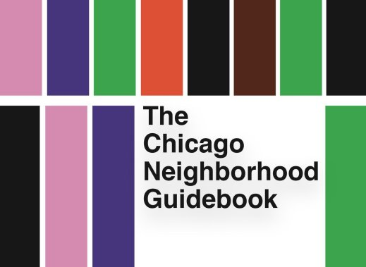 Cover of the Chicago Neighborhood Guidebook from Belt Publishing